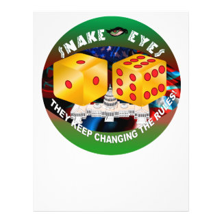 Dice-changing Rules 1R 21.5 Cm X 28 Cm Flyer