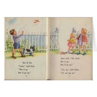 Dick and Jane Card