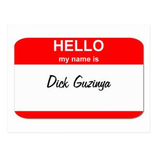 Dick Guzinya Postcard