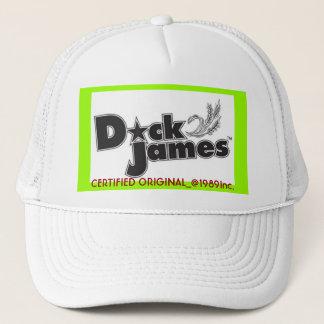 Dick James logo, CERTIFIED ORIGINAL_@1989Inc. Trucker Hat