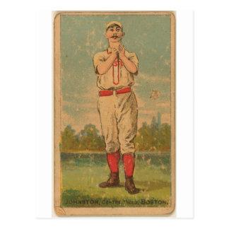 Dick Johnston, Boston Beaneaters Postcard
