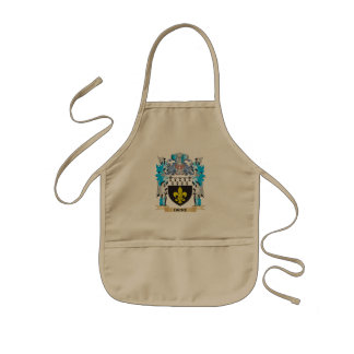 Dicke Coat of Arms - Family Crest Apron
