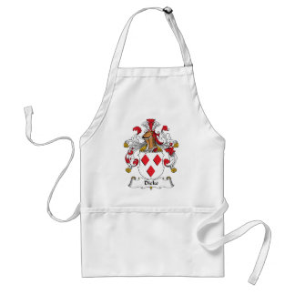 Dicke Family Crest Standard Apron