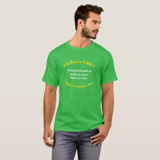 Dicken's Cider St Patrick's Day Novelty T-shirt