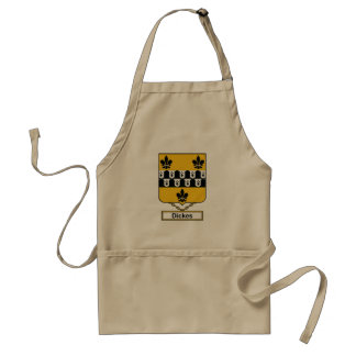 Dickes Family Crest Apron