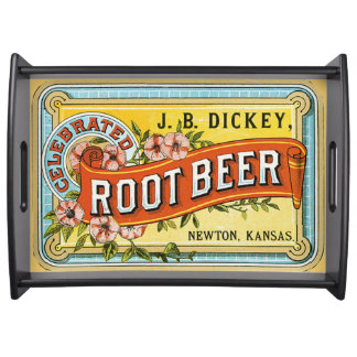 Dickey's Vintage Root Beer Ad Serving Tray