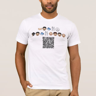 DiddleSkis - Emoticon Riddle (Teach a Man to Fish) T-Shirt