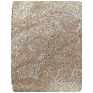 Die Schweiz,  Switzerland Atlas Map iPad Cover