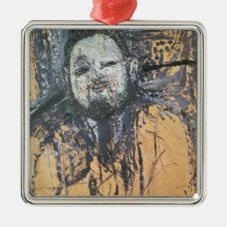 Diego Rivera  1916 Silver-Colored Square Decoration