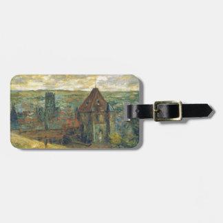 Dieppe by Claude Monet Bag Tag
