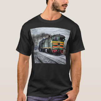 Diesel Train Locomotive Gifts T-Shirt