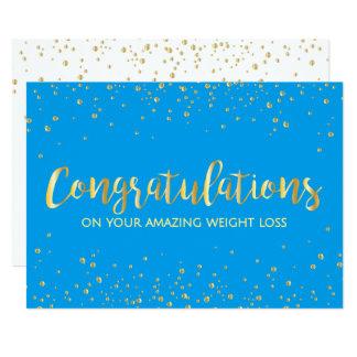 Diet Fitness Weight Loss Slim Club Congratulations 13 Cm X 18 Cm Invitation Card