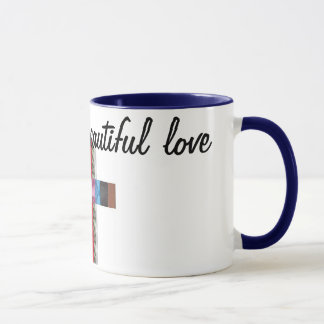 different and beautiful love( humanist ) mug