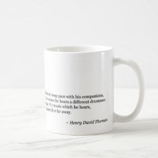Different Drummer Coffee Mug
