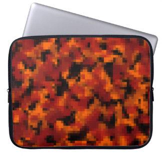 Digital Autumn Foliage Camo Laptop Sleeve
