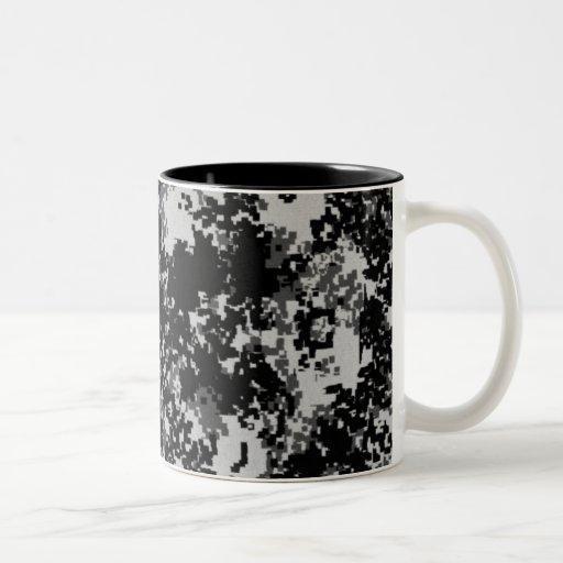 Digital Camo Coffee Mugs