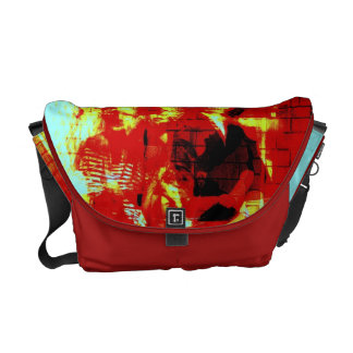 Digital Collage Bag Ghosts from days Gone By Commuter Bags