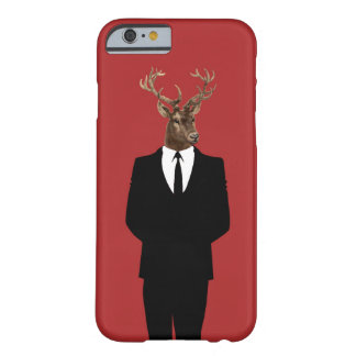 Digital Deer Collage Barely There iPhone 6 Case