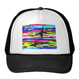 DIGITAL NOISE JET FIGHTER CAP
