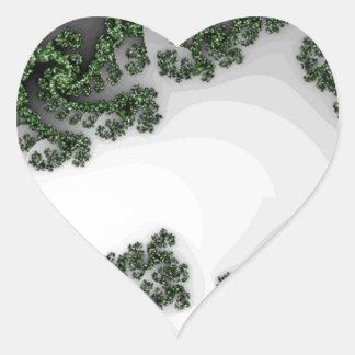 Digital Sea Dragon Heart Stickers