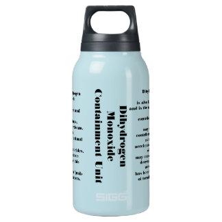 Dihydrogen monoxide insulated water bottle
