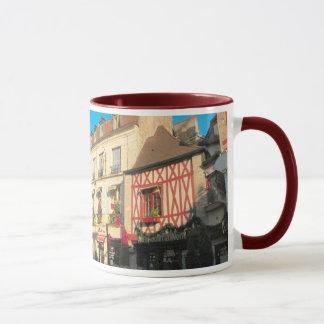 Dijon, Duchy of Burgundy, Half timbered buildings Mug