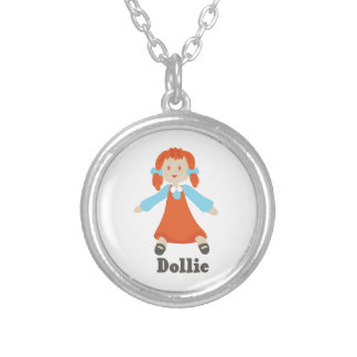 Dillie Round Pendant Necklace