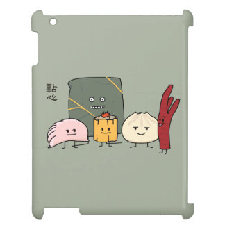 Dim Sum Pork Bao Shaomai Chinese dumpling Buns Bun Case For The iPad 2 3 4