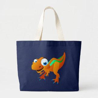 Dina The Dinosaur Large Tote Bag