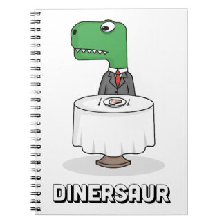 Dinersaur Spiral Notebook