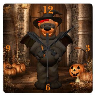 Dinky Bears: Litte Bat Wall Clocks