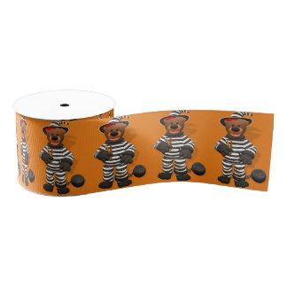 Dinky Bears: Little Prisoner Grosgrain Ribbon