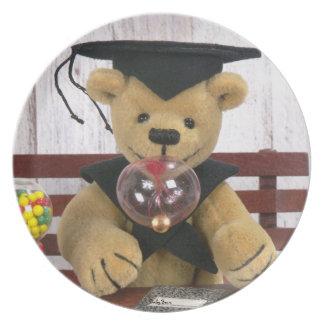 Dinky Bears Schoolboy Plate