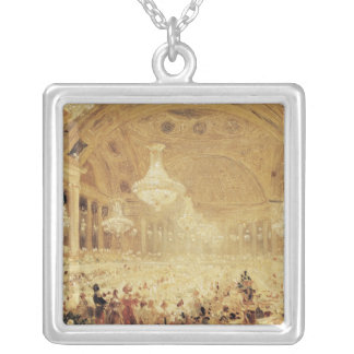 Dinner at the Tuileries Silver Plated Necklace