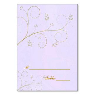 Dinner Celebration Table Place Cards | lilac set