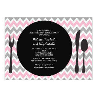 Meet and greet baby shower gifts t shirts art posters other dinner party invite meet the baby girl shower m4hsunfo