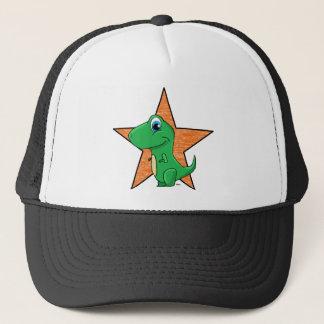 dino baby star trucker hat