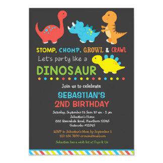 Dino birthday invitation, Dinosaur Invitation