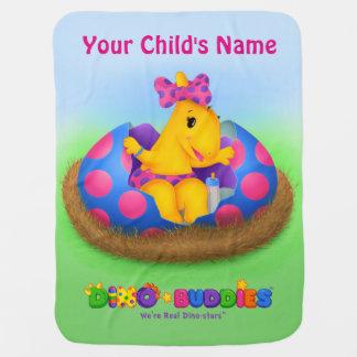 Dino-Buddies™ Baby Blanket w/Lisi™