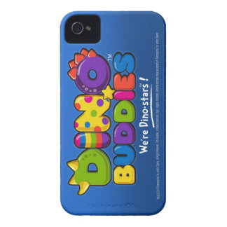DINO-BUDDIES™ - Component Logo Blue - iPhone 4 Ca iPhone 4 Cover