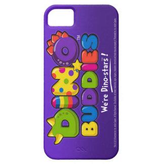 DINO-BUDDIES™ - Logo 2 - iPhone 5 Case (Purple)