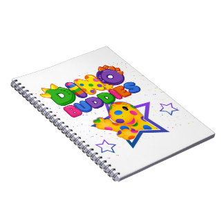 Dino-Buddies™ Notepad – Rollo w/Star Scene Notebooks