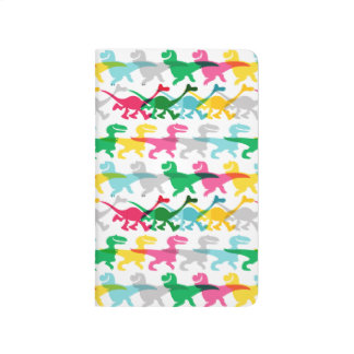Dino Color Pattern Journal