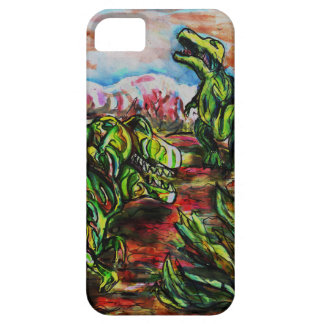 Dino Drama Barely There iPhone 5 Case