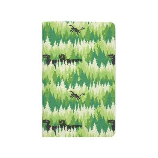 Dino Forest Pattern Journal