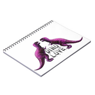 Dino Love Notebook