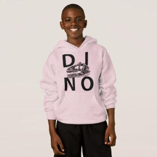 DINO - Pale Pink Kids' Hanes ComfortBlend® Hoodie