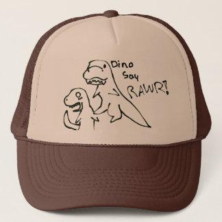 Dino say RAWR hat