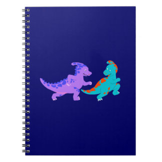 Dinos Jogging Spiral Notebook