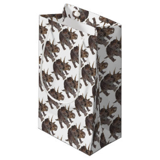 Dinosaur design small gift bag